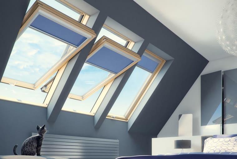 okna dachowe, okna połaciowe