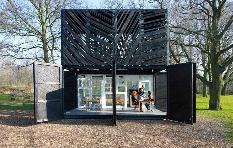 Noorderparkkamer - pawilon a Amsterdamie