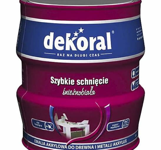 Farba do drewna. AKRYLUX KOLOR Ekologiczna, szybkoschnąca i niekapiąca farba o przyjemnym zapachu. Trwale zachowuje intensywny kolor. Cena: 17 zł/0,5 l