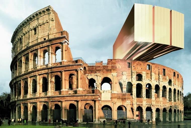Pierwsza edycja konkursu Changing the Face w Rzymie: projekt 'Colosscope' Borisa Kunza