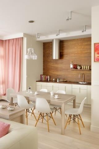 Wnętrza apartamentu - kuchnia