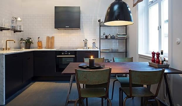 małe mieszkanie, styl skandynawski, mieszkanie w stylu skandynawskim, jasne mieszkanie, loft
