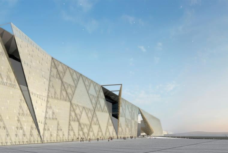 Muzeum w sąsiedztwie piramid