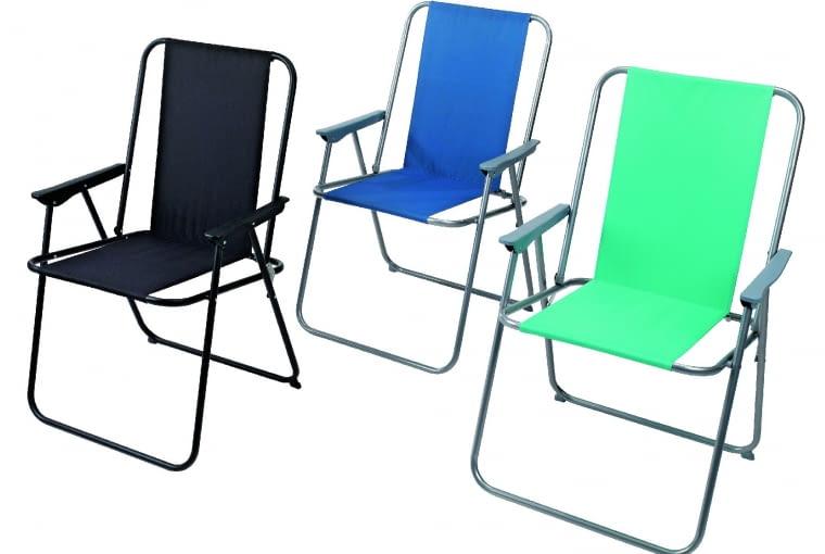 TRONDHEIM, krzesło, metal i tworzywo sztuczne 30 zł Jysk 9. WAVE, leżak, metal i tworzywo sztuczne 179 zł Leroy Merlin