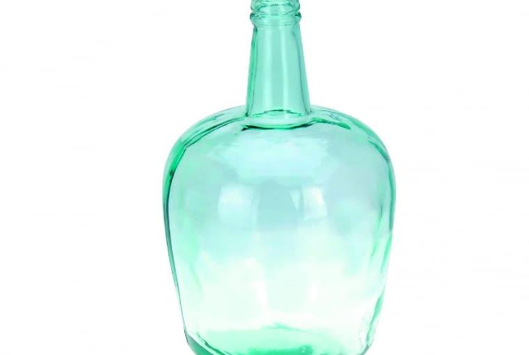 W stylu tego wnętrza: Wazon, szkło z recyklingu, wys. 36 cm cudawdomu.pl, 96 zł