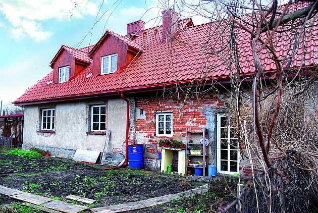 remont starego domu, elewacja