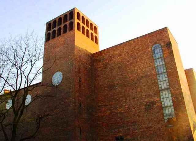architektura sakralna, zabrze, śląsk, modernizm, kościół, zabytek, budynek