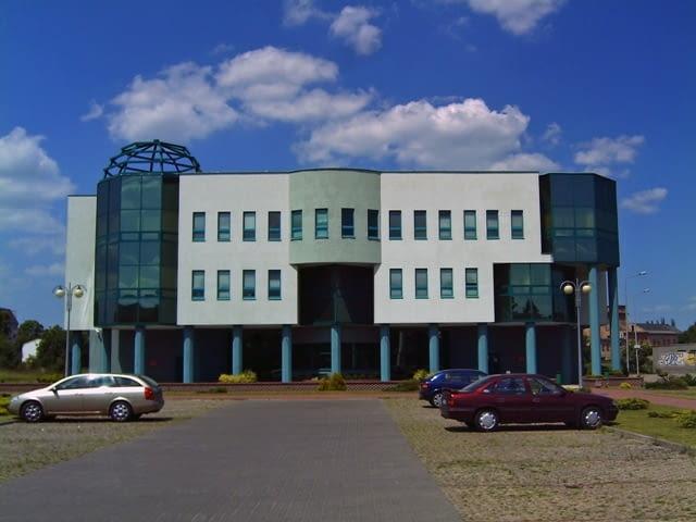 Siedziba oddziału ZUS w Sieradzu
