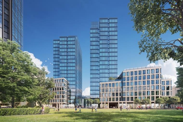 Nowe wizualizacje wznoszonego w centrum Warszawy wieżowca Varso.