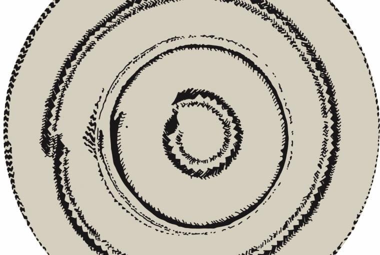 Hat dywan Nanni Marquiny inspirowany kapeluszem ze słomy. W tym modelu projektantka połączyła zainteresowanie technikami wyplotu słomy i tkaniny, Nannimarquina.