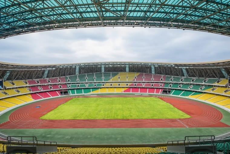 Stade Municipal de Kintélé, Brazzaville - Kongo (IX nagroda w głosowaniu jury) - Na trybunach stadionu znajduje się 60 055 miejsc, w tym 1180 miejsc przeznaczonych dla gości VIP.