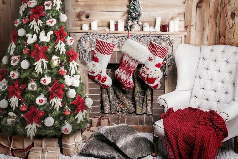 Boże Narodzenie, dekoracje świąteczne, ozdoby, choinka
