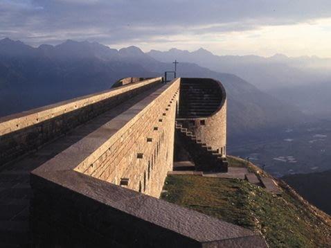 Kaplica Santa Maria degli Angeli, Monte Tamaro, Szwajcaria