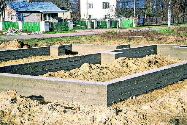 Monolityczne ściany fundamentowe