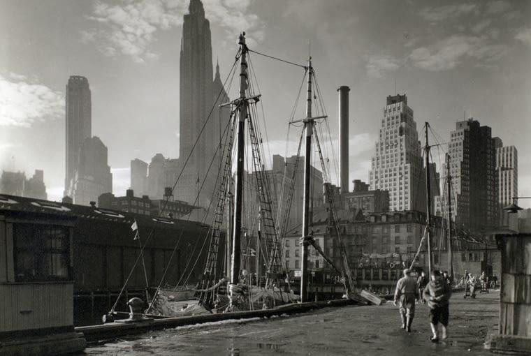 panorama Manhattanu z Fulton Dock, 26 listopada 1935 r.