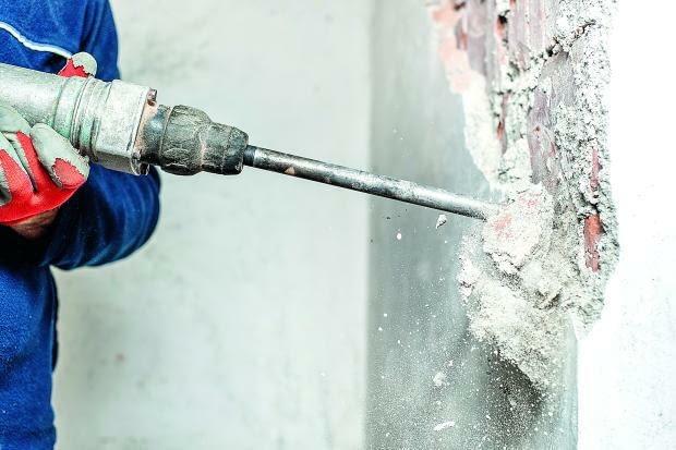 ścianki działowe, wyburzanie ścian, przestawianie ścian