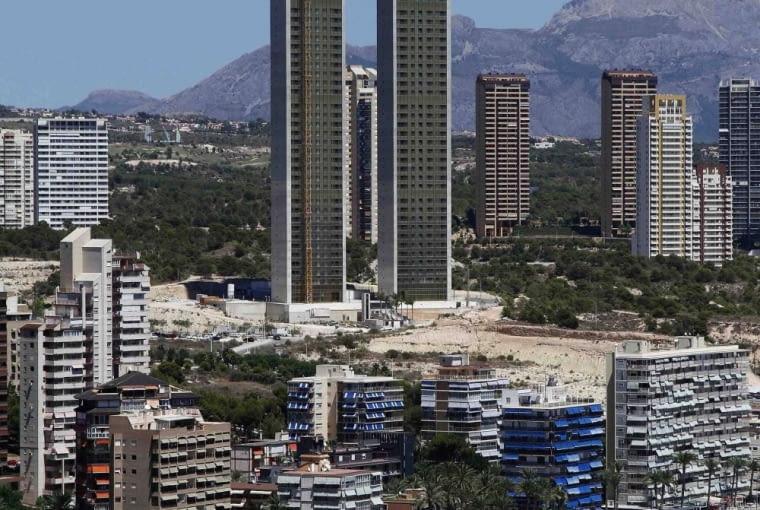 Wieżowiec In Tempo w Benidorm w Hiszpanii.