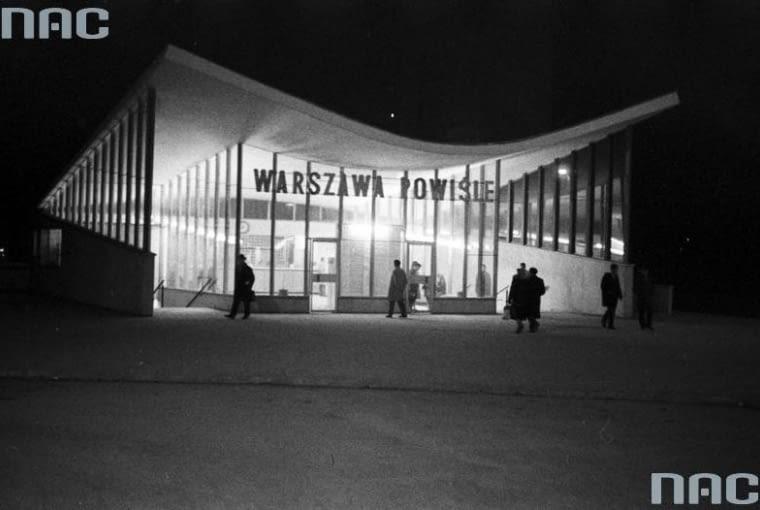 Jeden z dworców kolei średnicowej - Warszawa Powiśle