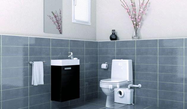Miskę ustępową, umywalkę, kabinę prysznicową, wannę, bidet oraz pralkę możemy ustawić w pomieszczeniach, w których nie ma pionu kanalizacyjnego. Ścieki, które powstaną podczas użytkowania łazienki lub toalety, zostaną odprowadzone przez urządzenia rozdrabniająco-przepompowujące