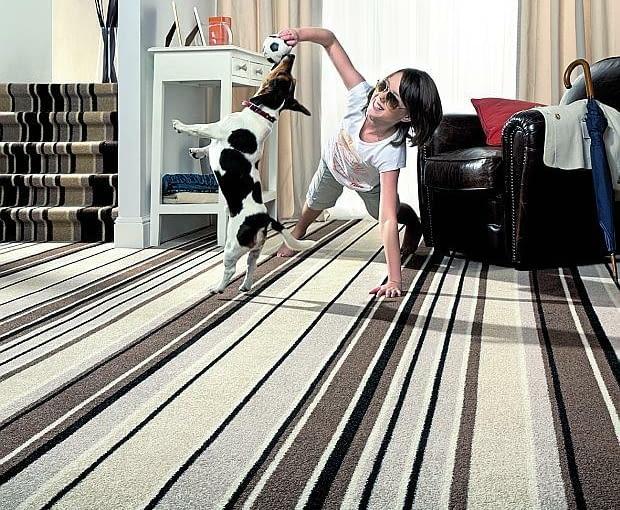 ogrzewanie podłogowe, wykładzina dywanowa na ogrzewanie podłogowe