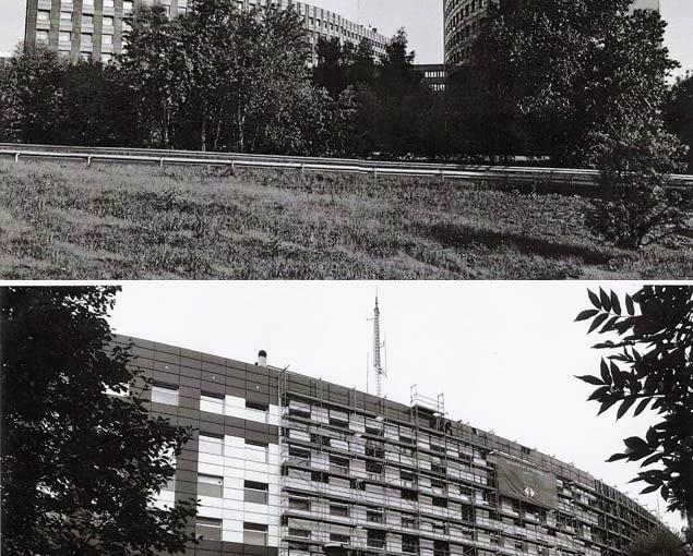Budynek policji w Katowicach dawniej i dziś