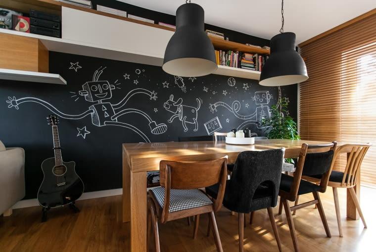 Nowoczesne mieszkanie rodziny z Poznania