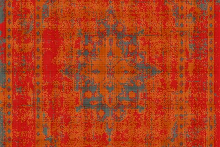 Dywan VINTAGE RED, polipropylen, 140 x 200 cm, 199 zł, Komfort