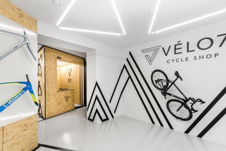 Sklep rowerowy VELO07