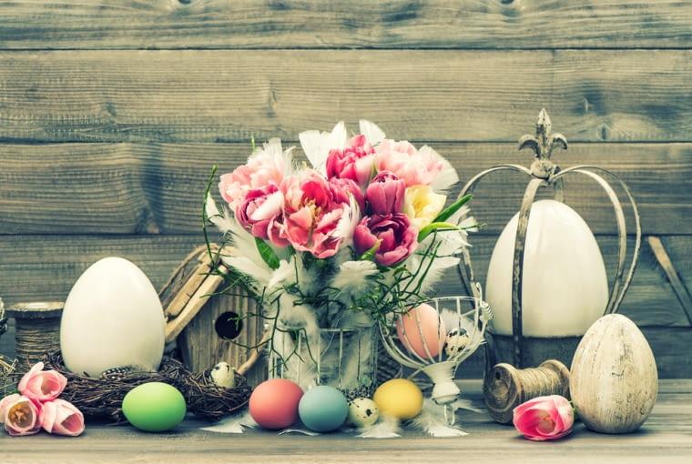 Świąteczne aranżacje wnętrz - Wielkanoc