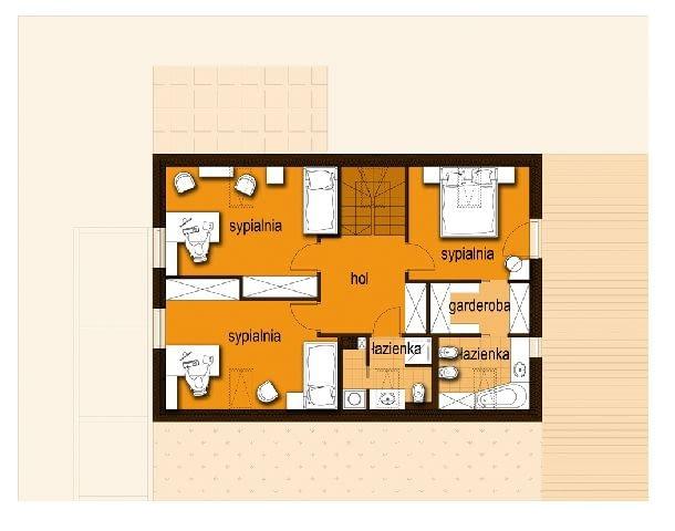Projekt ADD - plan piętra