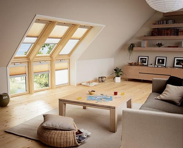 okno kolankowe, okna dachowe, poddasze, poddasze aranżacje