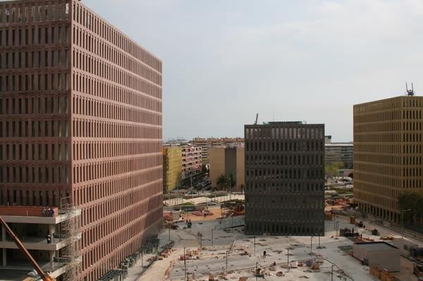 Miasto Sprawiedliwości w Barcelonie, City of Justice w Barcelonie projektu Davida Chipperifielda