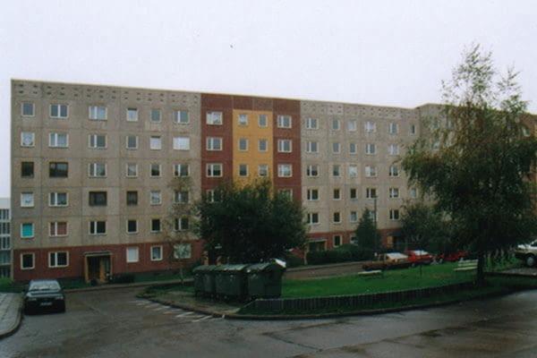 Buchnerstrasse 26-40, Leinefelde, proj. Stefan Forster