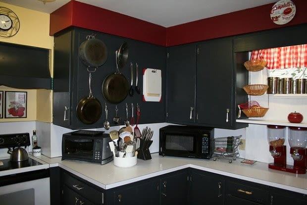 kuchnia, błędy w urządzaniu kuchni