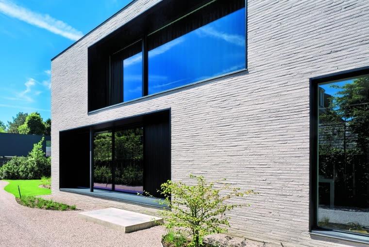 Long John Grey TERCA/ WIENERBERGER cegła strukturyzowana wodą wymiary: 510 x 100 x 40 mm kolor: szary Cena: ok. 814 zł/m2