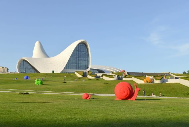 Centrum Kultury Azerskiej w Baku - projekt Zaha Hadid (2007-12)