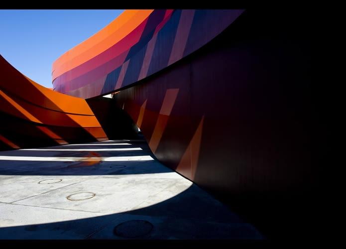 Muzeum Dizajnu Holon, proj. Ron Arad, 2010