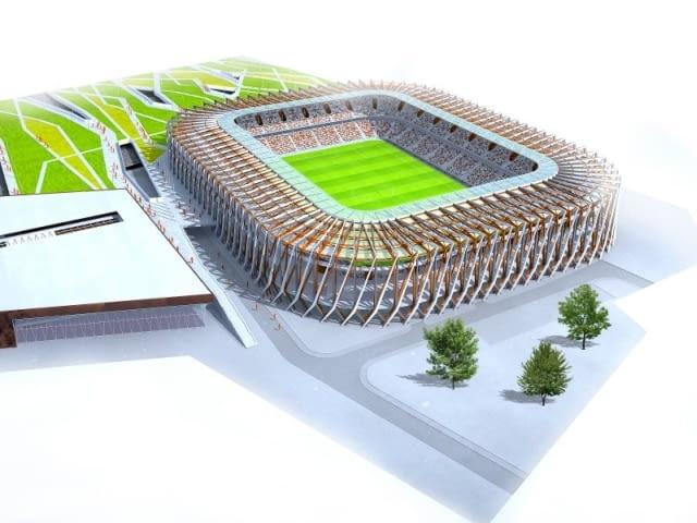 stadion, białystok, projekt, kurylowicz