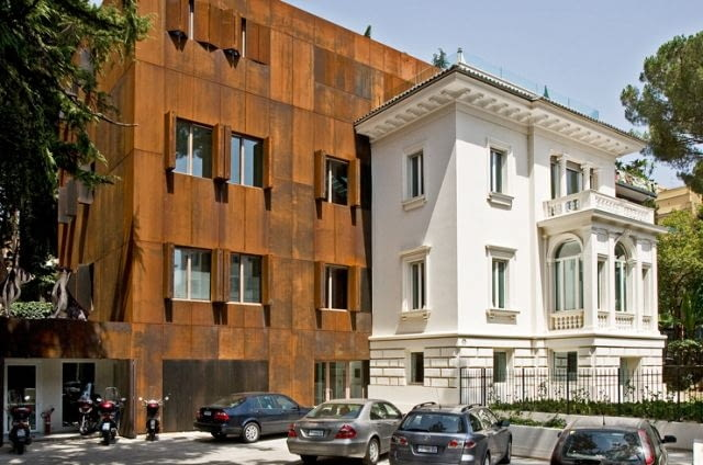 Renowacja Ambasady Królestwa Niderlandów, Rzym, Włochy, 2007, proj. Cepezed