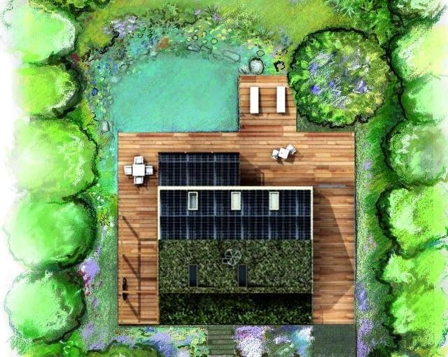 Projekt ADD - zieleń na działce