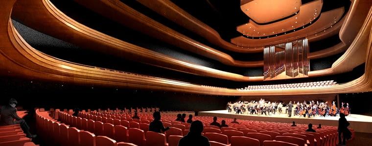 Siedziba Narodowej Orkiestry Symfonicznej w Katowicach
