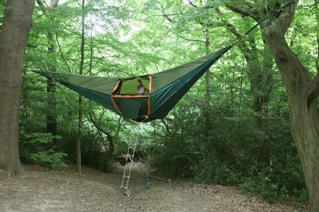 Namiot i hamak w jednym - projekt pracowni Greendream Architecture