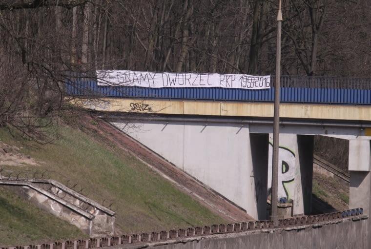 Pożegnanie dworca w Puławach
