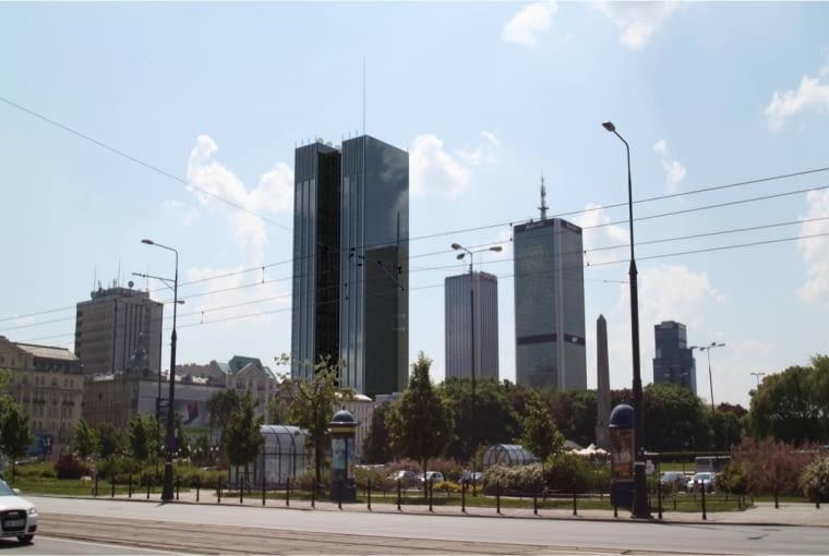 Planowany wieżowiec przy Nowogrodzkiej - BBI Development