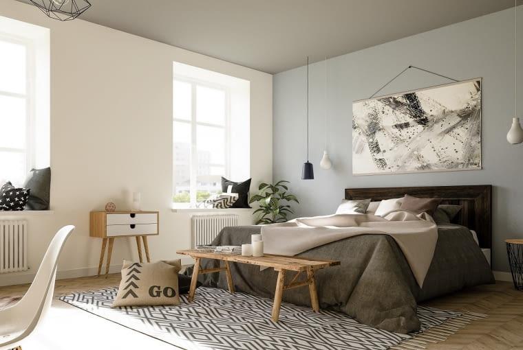 Domowe sposoby na zdrowy sen. Zapewni to… aranżacja sypialni [ZDJĘCIA]