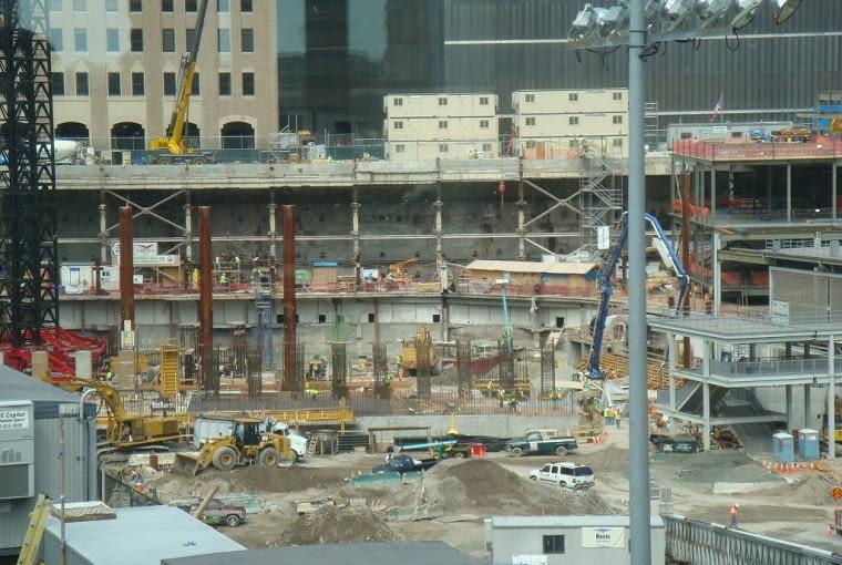 Przygotowania do budowy Freedom Tower w 2007 r.