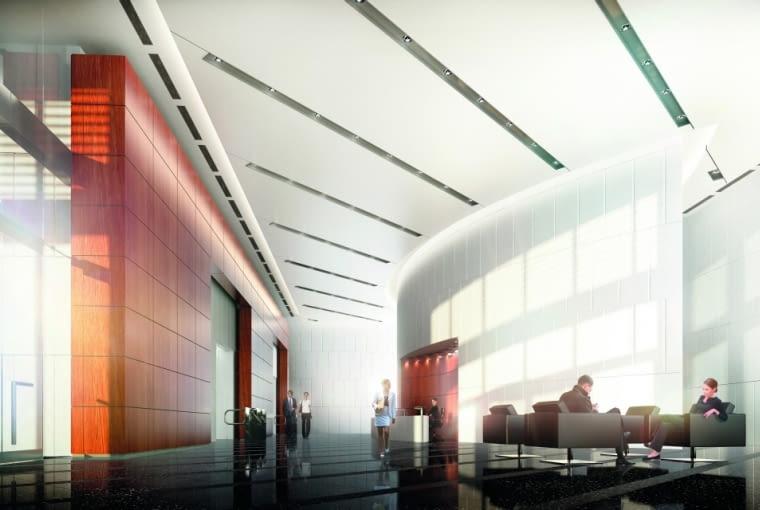 Prime Corporate Center Warszawa - wizualizacje budynku