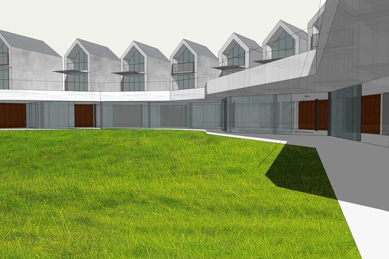 Dom jednorodzinny w Białym Borze