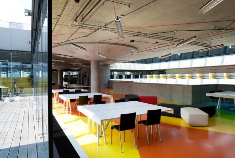 projektil architekti, biblioteka, biblioteka techniczna, praga