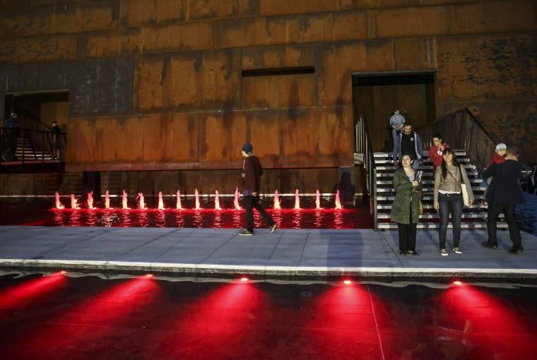 30.08.2014 Gdansk . Europejskie Centrum Solidarnosci , dzien otwarcia . fot. Lukasz Glowala / Agencja Gazeta SLOWA KLUCZOWE: ecs europejskie centrum solidarnosci